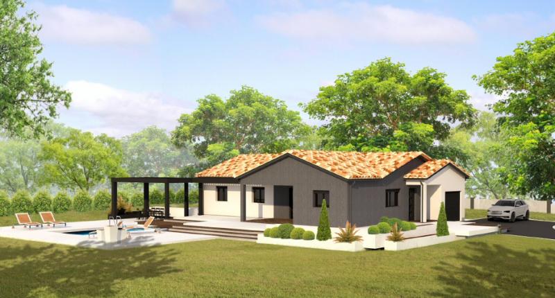 maison monet les demeures du terroir votre constructeur. Black Bedroom Furniture Sets. Home Design Ideas