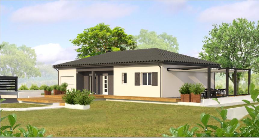 maison picasso les demeures du terroir votre. Black Bedroom Furniture Sets. Home Design Ideas
